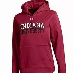 Under Armour NCAA Indiana Hoosiers Boys Hood,